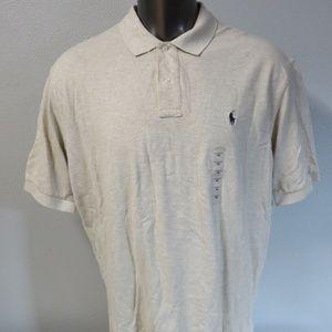 Polo Ralph Lauren Size XXL Shirt XXL Heather Brown